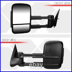 Fits 1999-2002 Sierra/SilveradoPOWER+HEAT+SMOKE LEDTelescoping Tow Side Mirror