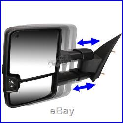 For 14-17 Silverado/sierra K2xx Power+heat+turn Signal Towing Tow Side Mirror