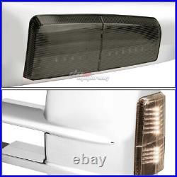 For 2003-2006 Sierra Silverado Pair Power+led Turn Signal Towing Mirror Chrome