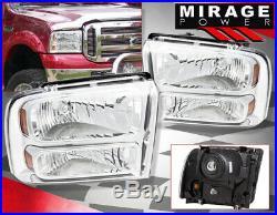 For 2007-2013 Chevy Silverado Driving Black Clear Headlamp Third Brake Fog 6000K