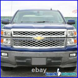 For 2014-2016 Chevy Silverado 1500 Turn Signal Lamps Headlights Replacement