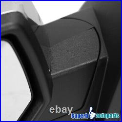 For 2014-2018 Silverado Sierra Side Mirrors with LED DRL Turn Signal Power Heated