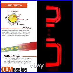 For 2019-2020 Silverado 1500 2020 2500HD/ 3500HD Halogen Type Black Tail Light