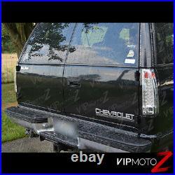 For 88-98 Chevy Tahoe Suburban Silverado GMC Sierra Yukon Chrome LED Tail Light