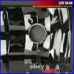 For 99-02 Silverado 00-06 Tahoe Suburban Smoke Headlights with LED+Bumper Lamps