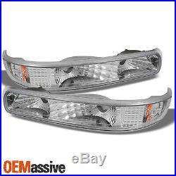 For Chevy Silverado Suburban Tahoe LED Projector Headlights +Bumper & Fog Lights