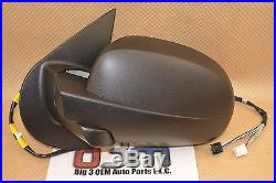 GMC Chevrolet LH Driver Side Rear View Mirror with Turn Signal new OEM 25831053