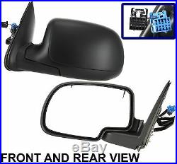 GMC Chevy Escalade Diver Left Side Power Heated With Turn Signal Mirror New