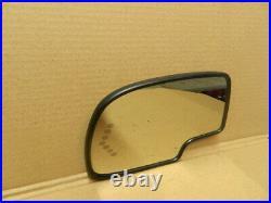 GM TRUCK DOOR MIRROR GLASS HEAT TURN SIGNAL AUTO DIM drivers side 88944391