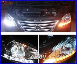 Headlight Retrofit Switchback LED Strip Lights with Sequential Turn Signal Feature