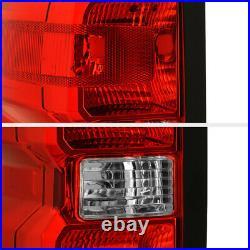 LEFT DRIVER SIDE For 14-19 Chevy Silverado GMC Sierra 3500HD Tail Brake Light