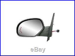 LH Heated Power Mirror withTurn Signal FOR 2007-2013 Cadillac Escalade