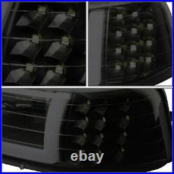 Led Drlfor 99-02 Chevy Silverado 4pcs Headlight Bumper Turn Signal Lamp Tinted