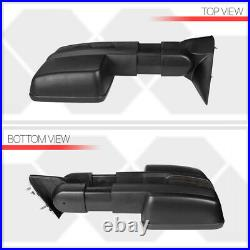 Left Driver Side Power+Heated LED Signal Towing Mirror for 03-07 Sierra/Yukon