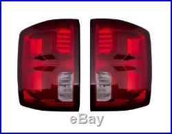 Left & Right Genuine Tail Brake Lights Lamps LED Pair Set for Silverado 1500 GM