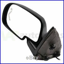 Left+Right Side View Mirrors Power+Heated Turn Signal Lamp For 2003-07 Chevy GMC