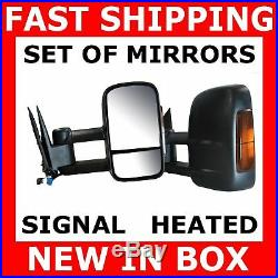 Mirror 03-06 Gmc Chevy Truck Power Heated Signal Towing