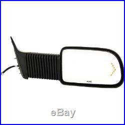 Mirror New Right Hand Heated Chevy In-glass Turn Signal Light Passenger Side RH