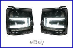 Morimoto XB LED Plug & Play Headlights Black Trim For 16-18 Chevy Silverado 1500