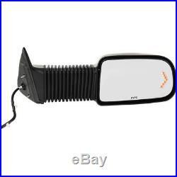 New Mirror Heated Chevy Right Hand Side In-glass Turn Signal Light Passenger RH