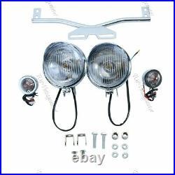New Turn Signals Light Bar For Yamaha V-Star XVS 650 1100 Classic Silverado TP