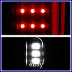 OLED TUBE Full LED Black Tail Lights Rear Brake Lamps For 19-21 Silverado 1500