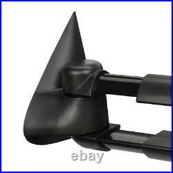 PairPower+Heated Extendable LED Signal Towing Side Mirror for 99-02 GMC GMT800