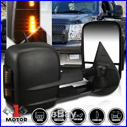 PairPower+Heated LED Signal Towing Side Mirror for 07-14 Sierra/Yukon/Escalade