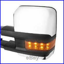 PairPower+Heated LED Signal Towing Side Mirror for 14-18 Silverado/Sierra 2500