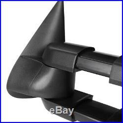 PairPower+Heated Smoke LED Signal Towing Side Mirror for 99-02 Silverado/Yukon