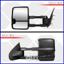 PairPower+Heated Towing LED Signal Side Mirror for 14-18 Silverado/Sierra 2500