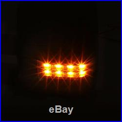 Pair Chrome Power+Heated LED Signal Towing Mirror for 07-14 Yukon/Silverado