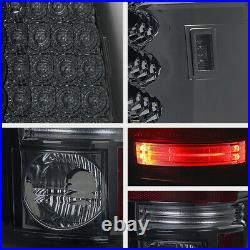 SMOKED LENS For 03-06 Chevy Silverado 1500 2500HD 3500HD LED Tail Light Lamp