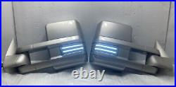 Sierra tow mirrors with color match paint & switchback turn signals ALL YEARS