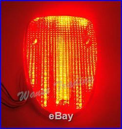 Tail Turn Signals Light Smoke For YAMAHA V-Star XVS 650 1100 Classic Silverado