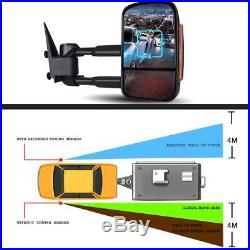 Tow Mirrors Fit 03-2005 06 Silverado GMC Sierra POWER+HEATED+LED Turn Signal