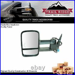 Trail Ridge Towing Mirror Power Heated Turn Signal Driver Left LH for Chevy GMC